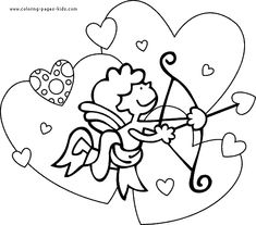 valentines day coloring pages valentines day color page coloring pages for kids holiday
