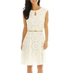 jcpenney.com | London Style Collection Keyhole Dress