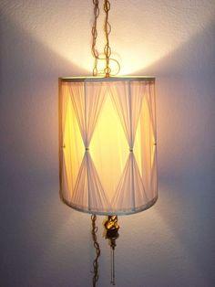 vintage angel hanging light swag lamp unbranded angel