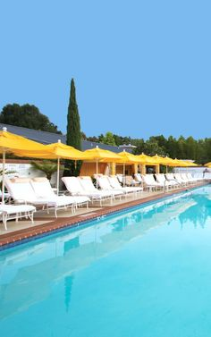 Looking forward to relaxing by the pool at the Four Seasons Hotel Westlake Village.