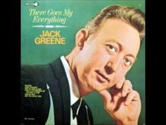 """Country singer and Grande Ole Opry member Jack Greene (AKA """"Jolly Greene Giant"""") was born today 1-7 in 1933. He passed in 2013. From 1966 here he is singing one of his memorable No 1 Country hit tunes - 'There Goes My Everything'"""