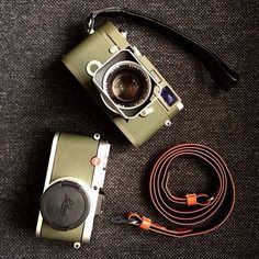 LEICA MP/X2 Oliv by @leicaology