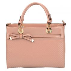 Papaya Pale Pink Patent Bow Bag Bow Bag, Discount Designer Handbags, Hermes Kelly, Handbag Accessories, Pale Pink, Bows, Bowties, Bow, Ribbon