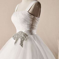 New arrival  straps beaded waist full A-line organza wedding dress  A-line/Princess,Floor Length,Natural,Straps,Sleeveless,Beading, Pleats,Lace-Up,Organza,Beach/Destination, Garden/Outdoor,Spring, Summer, Fall, Winter