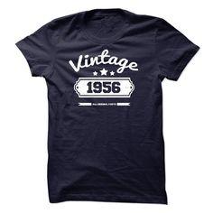 Vintage 1956 All Original Parts T Shirt, Hoodie, Sweatshirt