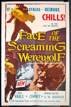 1/8/1964-Face of the Screaming Werewolf
