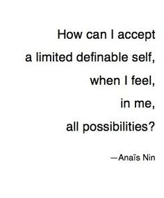 . . . all possibilities.