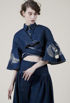 amanda yam, eco, organic, denim, designer, fashion, editorial, lookbook,