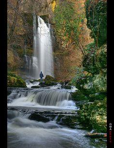 Las Pisas Waterfall / Cascada de las Pisas. by OMA photo, via Flickr