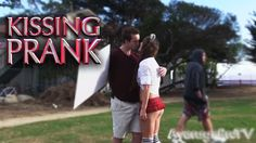 Kissing Prank - Funniest Kissing Prank 2016  (Free Kisses)