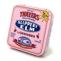We cannot tell a lie: Naturally tangy and sweet, our Slippery Elm Cherry Lozenges are a delightful balm for irritated throats and hoarse voices. Witch Hazel For Skin, Throat Lozenge, Slippery Elm Bark, Oregano Oil, Tea Design, All Vegetables, Natural Flavors, Health And Nutrition, Natural Remedies