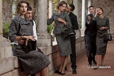 Dolce & Gabbana Fall Winter 2013.14 by Domenico Dolce