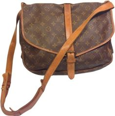 Louis Vuitton Saumur 35 Monogram Messenger Saddle Brown Cross Body Bag. Get the trendiest Cross Body Bag of the season! The Louis Vuitton Saumur 35 Monogram Messenger Saddle Brown Cross Body Bag is a top 10 member favorite on Tradesy. Save on yours before they are sold out!
