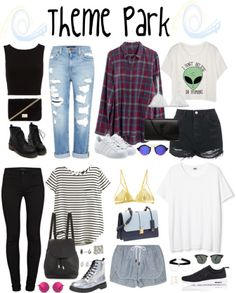 4246d940d5b0 Halsey-Inspired Theme Park Outfits by halseys-clothes featuring leather  shoes Theme Park Outfits