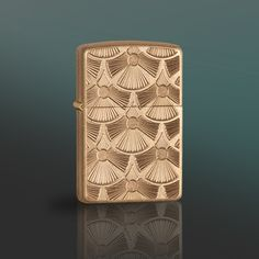 This Armor™ tumbled brass lighter is deep carved in a swirled pattern, resulting in a tactile, all-over design. The deep dimensional engraving has the look and feel of a top-quality emblem directly on the surface of the lighter.