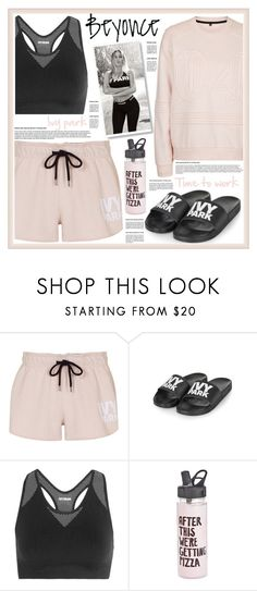 """""""sport wear, Ivy park"""" by nata91 ❤ liked on Polyvore featuring Topshop, Ivy Park, ban.do and Beyonce"""