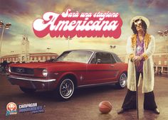 """Latina Basket: Funky  """"This year will be like an American season!""""  Advertising for the season ticket campaign of Latina Basket, an Italian basketball club.  #ad #adv #basket #italy #sport #outdoor #media #press"""