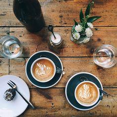 Coffee arrangement