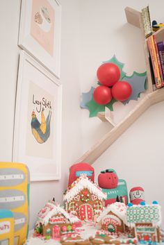 Holiday Playroom Decor - Do you decorate your child's playroom for Christmas?