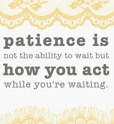 Learn the art of patience. Apply discipline to your thoughts when they become anxious over the outcome of a goal. Impatience breeds anxiety, fear, discouragement and failure. Patience creates confidence, decisiveness, and a rational outlook, which eventually leads to success. #patience #quote