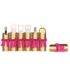 CLARINS Box of six Christmas crackers
