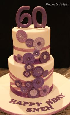 105 Best 60th Birthday Cakes Images