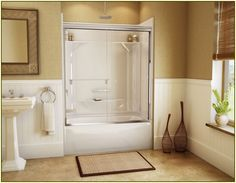 Bathroom Brilliant Corner Walk In Tub Shower Combo With