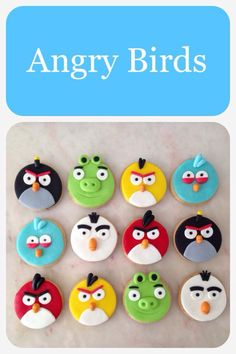 Bolachas angry birds Cookies