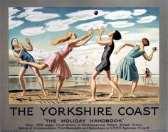 The Yorkshire Coast, by Laura Knight