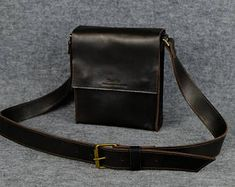 Men's shoulder handbag/ Italian leather bag, Mens crossbody bags, Leather bag for men, Men's leather purse, Leather satchel, Mens bag, Style