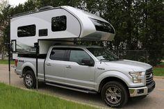 Ford Branded Livin Lite Truck Camper. Designed to match an F-150 pickup.