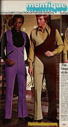 Jumpsuits from the 1970s Mantique catalog