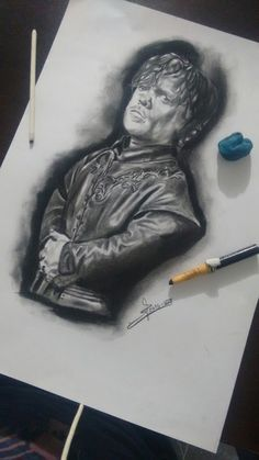 #tyrionlannister #tyrion #lannister #gameofthrones #charcoal