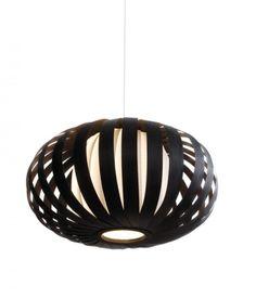 Hanglamp ST903 houtfineer zebrano bruin zwart