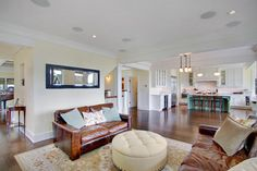 Kirkland Tanditional - traditional - family room - seattle - RW Anderson Homes