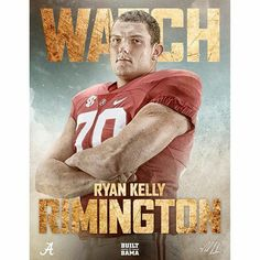Ryan Kelly - By @alabamafbl - ICYMI: Ryan Kelly was named to the 2015 Rimington Trophy Watch List. #Alabama #RollTide #BuiltByBama #Bama #BamaNation #CrimsonTide #RTR #Tide #RammerJammer