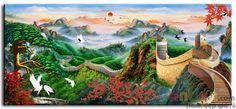 Vạn Lý Trường Thành M0287 là tranh sơn dầu phong cảnh chất lượng cao, tranh được vẽ trên vải lanh với độ bền cao và màu sắc trung thực. Tranh thích hợp với phòng khách, văn phòng, hội trường.... Giao tranh miễn phí trên toàn quốc