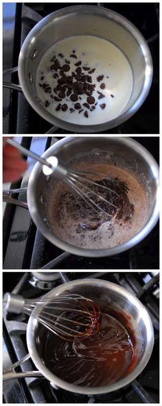 Buche De Noel Yule Log Recipe from Real Simple Christmas Treats, Christmas Cookies, Banana Pudding Poke Cake, Food Log, Yule Log, Xmas Food, Real Simple, Recipe Collection, No Bake Desserts