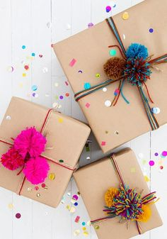 Diy Crafts For Gifts, Easy Gifts, Cute Gifts, Diy Gifts To Make, Mom Gifts, Family Gifts, Gifts For Friends, Birthday Gift Wrapping, Christmas Gift Wrapping