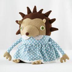 The Land of Nod | Kids Stuffed Animals: Jennifer Strunge Monster Hedgehog in Jennifer Strunge