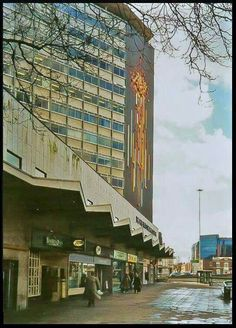 The old Five Ways shopping centre