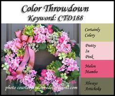 Color Throwdown: April 2012
