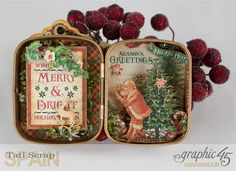 Christmas in a Tin, St.Nicholas, Graphic 45
