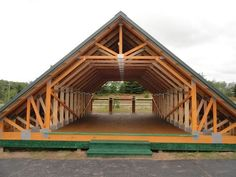 Home Decor - -Skandia Truss - Room In Attic roofingdesign Attic Truss, Roof Truss Design, Roof Trusses, Roof Styles, A Frame House, Roof Structure, Pole Barn Homes, Gambrel, Architecture