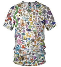 My kind of Pokemon tee, only featuring Pokemon from Kanto, Johto, and Hoenn. The three best generations in my opinion.