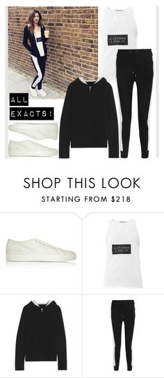 """""""ELEANOR CALDER INSPIRED OUTFIT <3"""" by costina-raftu ❤ liked on Polyvore featuring Common Projects, Acne Studios and Banjo & Matilda"""