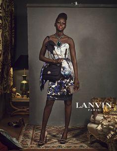 Lanvins Fall 2012 Campaign Features Unique Stars by Steven Meisel