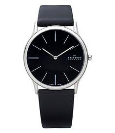 Men's Skagen Watch. Super-slim and minimalist design.