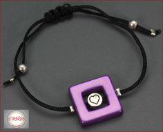 Schmuck - Armband Herz Nr. Da 1 - ein Designerstück von TANBI-accessories bei DaWanda