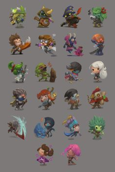 Grace Liu's Practice Blog: Starbound chibis collection